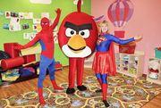 Организация праздников. Вечеринка в стиле Angry Birds.