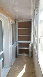 Обшивка балконной стены с  откосами балконного блока.Низкие цены!