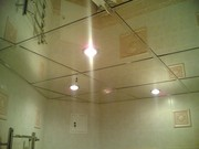 Потолок из стекла и зеркала - foto 0