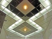 Потолок из стекла и зеркала - foto 5