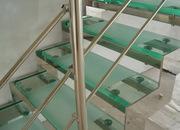Лестницы и перила из стекла