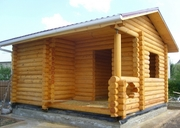 Строительство бани из блока и сруба.  - foto 2