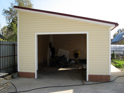 Строительство гаражей и пристроек под ключ! - main